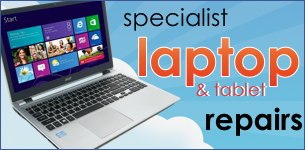 specialist laptop repairs